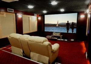 #hometheater #frontprojection #homecinema