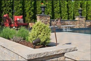 Sonance landscape speakers outdoors