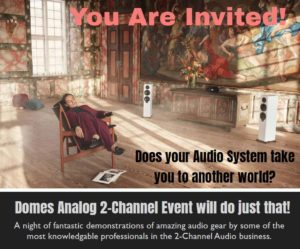 Domes 2-Channel Audio Event