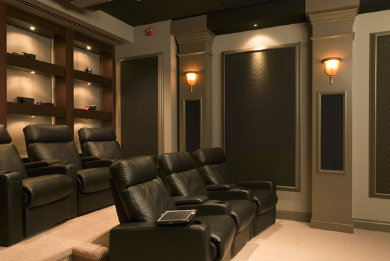 Brown Home Theater (Small)