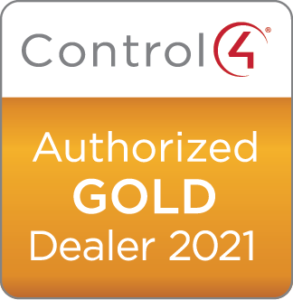 Control4 Authorized Gold Dealer 2021